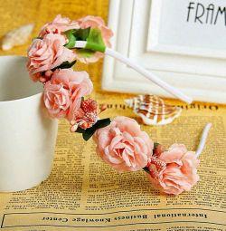Bandă cu flori