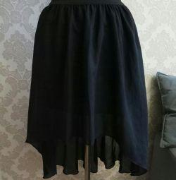 Φούστα με ελαστικό σιφόν μέγεθος καλοκαιριού 44-46 νέο!