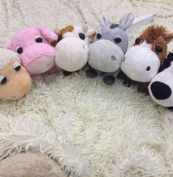 Complete Collection of Stuffed Toys