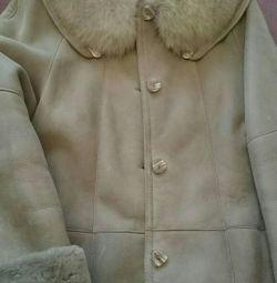 Palton de oaie lungime lungă 52-54