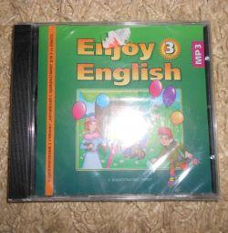 İngilizce dilinde ders kitabına disk