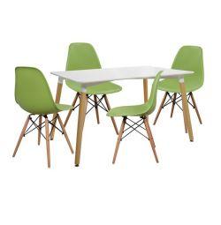 SET TABLES 5T TABLE MINIMAL 120X80-TONIA FRONT
