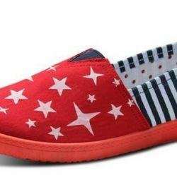 Туфлі Зірки (червоні).