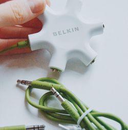 USB headphone jack