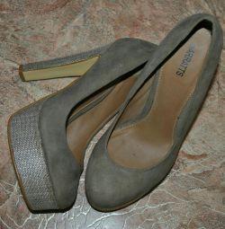Pantofi abrazivi nat.zamsha