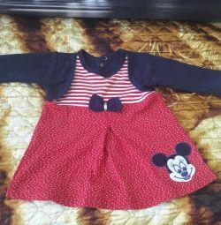 Dress the little girl