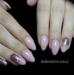 Manicure, gel-lacquer