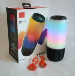 🔥 LED difuzor Bluetooth USB TF FM Puls 3 Big