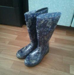 Women's rubber boots 36 size
