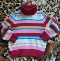 Wool sweater for 5-6 years