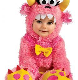 Ροζ Monster Jumpsuit