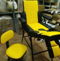 Chair for pedicure, massage, tattoo studios