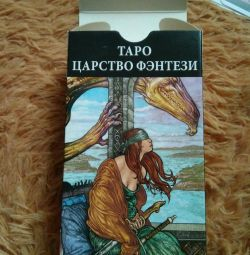 Tarot cards fantasy kingdom