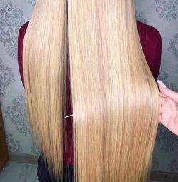 Îndreptarea părului cu cheratină