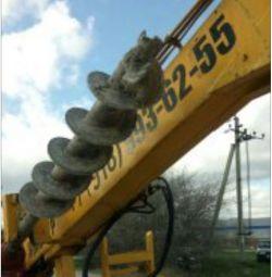 Drilling piles Yamobur