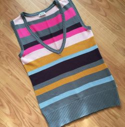 New knitted vest