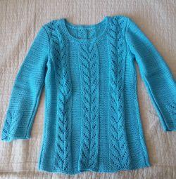 Tricotat manual. Pulovere pentru fete