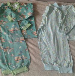 Pajamas pajamas and knitted price for two