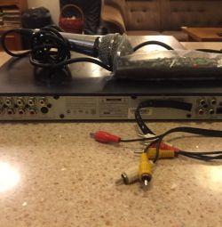 BBK karaoke DVD player