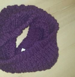 Snood-scarf lilac