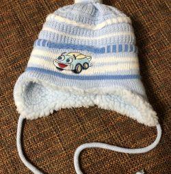 Зимняя шапка от 0