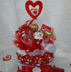 Surpriză dulce pe 14 februarie