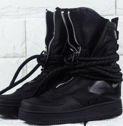 Sneakers Nike SF Air Force 1 black art 113009