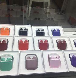 Air pods pastel colors