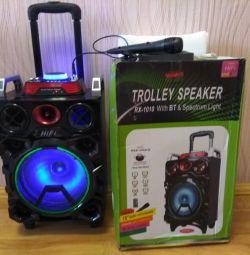 Battery Speaker. BLUETOOTH