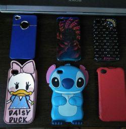 Cazuri pentru iPhone 4 și 4s