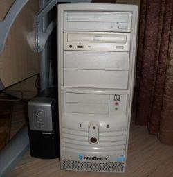 Системный блок: Intel Pentium 2х3 ггц, 4 Гб, 80 Гб