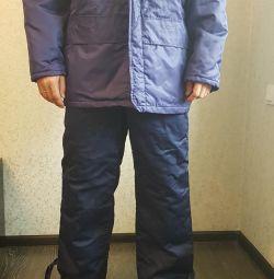 Kış petrolcü kıyafeti