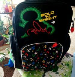 Briefcase, backpack