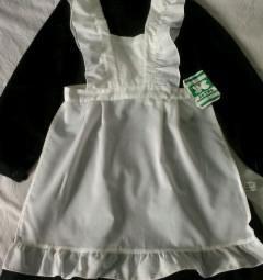 School apron white new 134-68