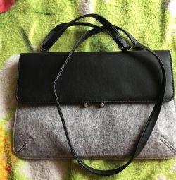 Τσάντα από μαλλί (τσόχα)