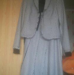 Costum (jachetă + fustă)