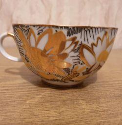 Altın Papatyalar setinden bir fincan, porselen, SSCB