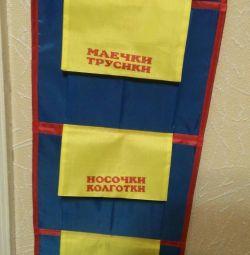 Pockets in kindergarten