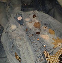 Μέγεθος ζακετών Jeans capri 46