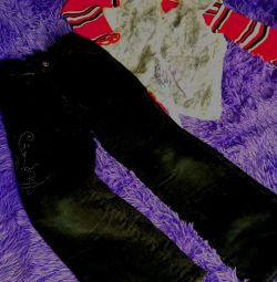 пакетом джинсы+