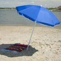 Large beach umbrella.
