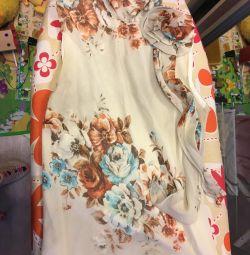 Bluză de mătase de vară