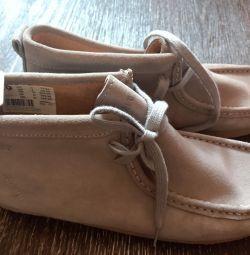 Ботиночки натуральные.замш.