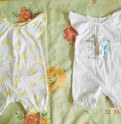 Mothercare sandbox kit new, 74 rr., 2 pcs