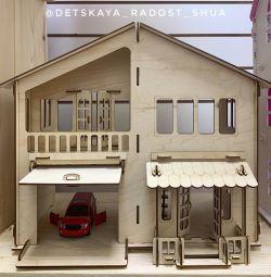Домик с гаражом