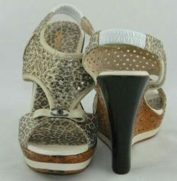 Women's sandals (leather) size 38