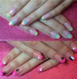 Manikür ve pedikür. Shellac. Check out ve evde