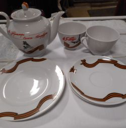 New set of dishes