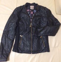 eco-leather jacket