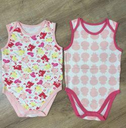 Δύο κορμάκια Mothercare, μεγέθους 1,5-3 ετών